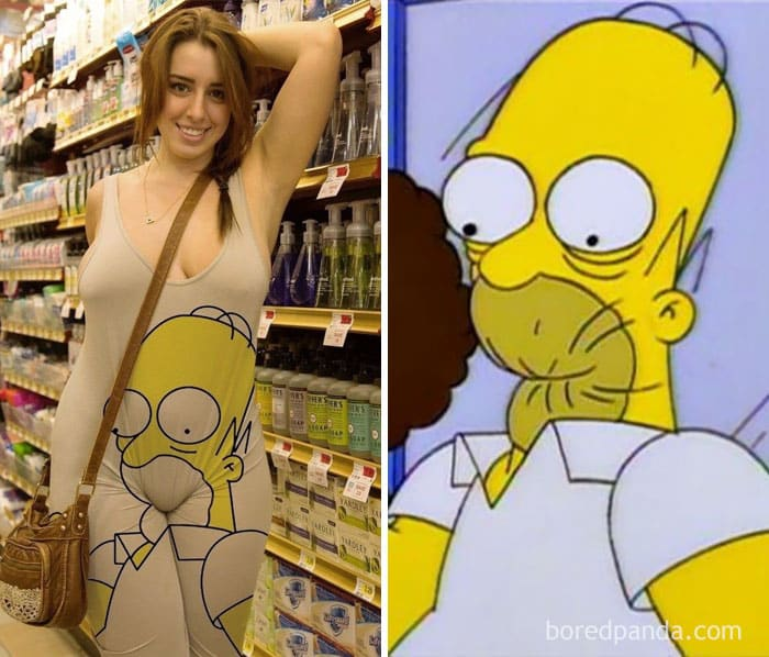 Симпсон в магазине