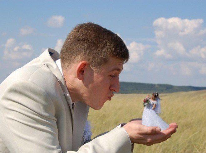 Сногсшибательная свадебная фотография-20