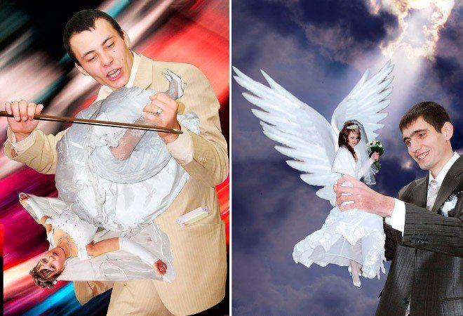 Сногсшибательная свадебная фотография-21