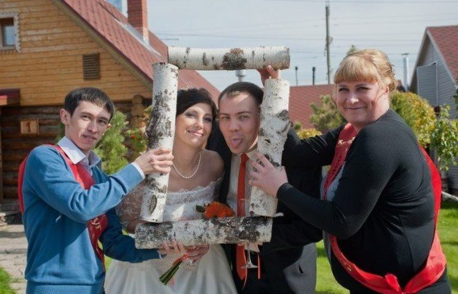 Сногсшибательная свадебная фотография-23