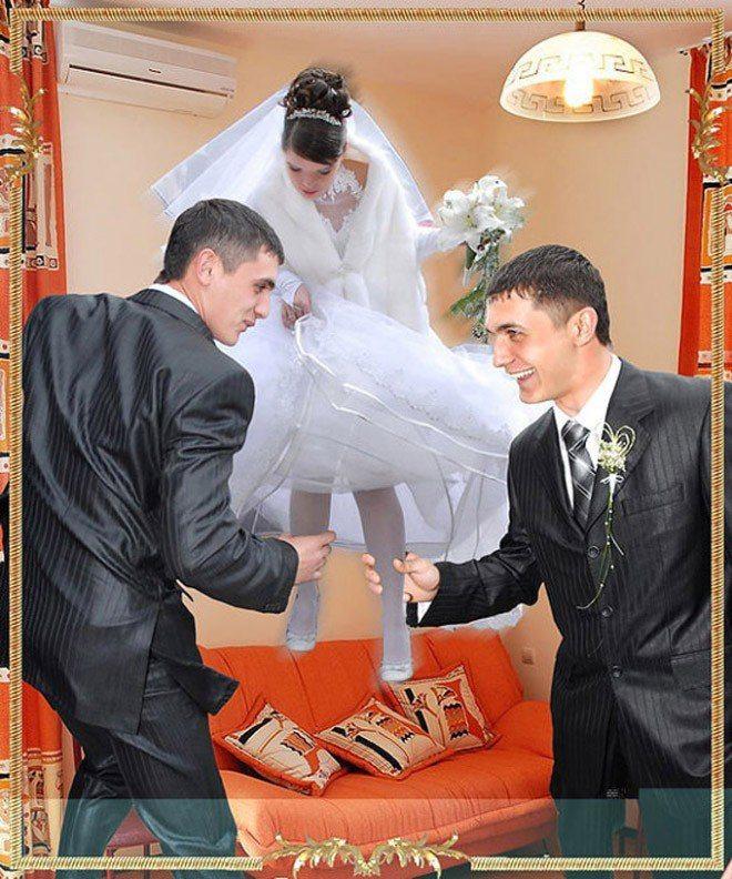 Сногсшибательная свадебная фотография-25