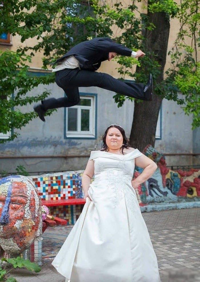 Сногсшибательная свадебная фотография-2