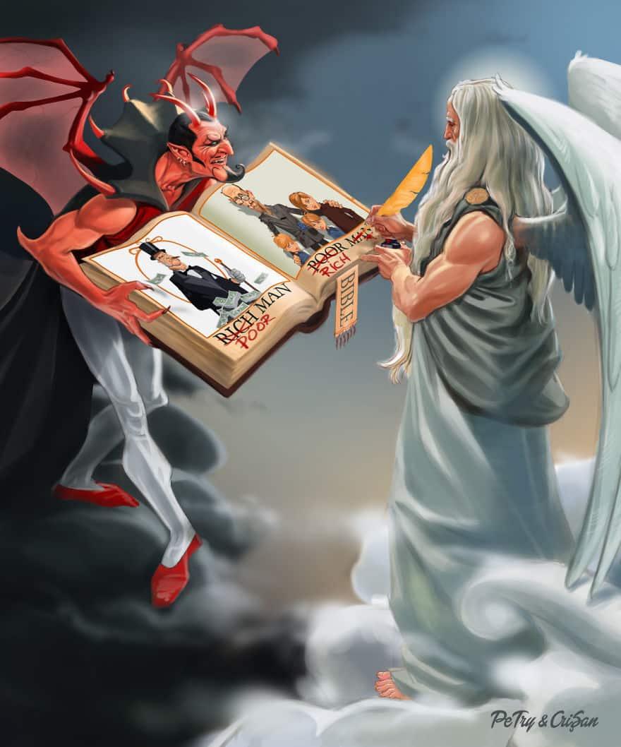 Библия, исправленная Богом