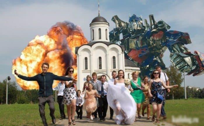 Сногсшибательная свадебная фотография-31