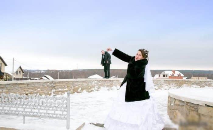 Сногсшибательная свадебная фотография-32