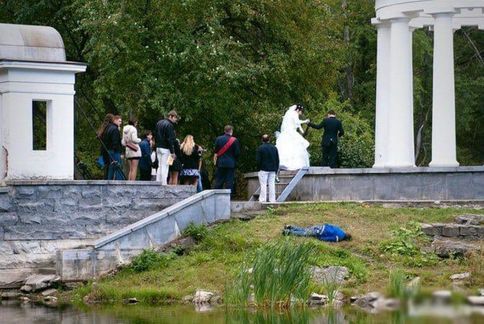 Сногсшибательная свадебная фотография-3