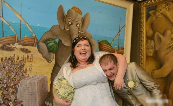 Сногсшибательная свадебная фотография-4