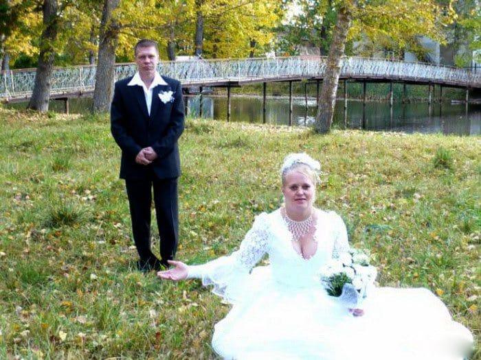 Сногсшибательная свадебная фотография-6