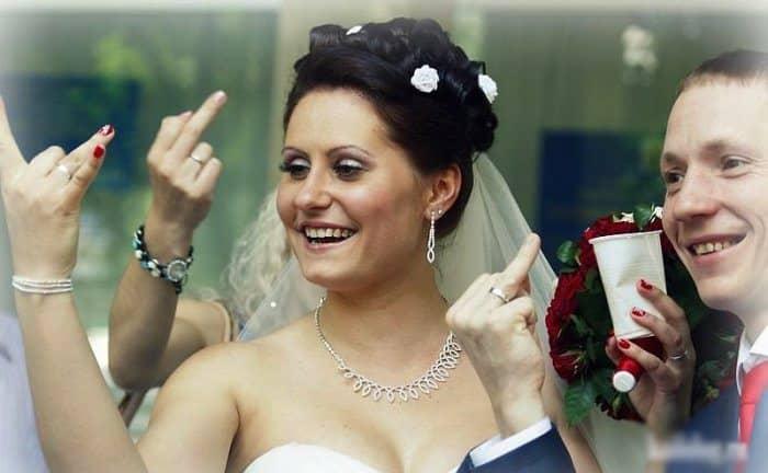 Сногсшибательная свадебная фотография-7