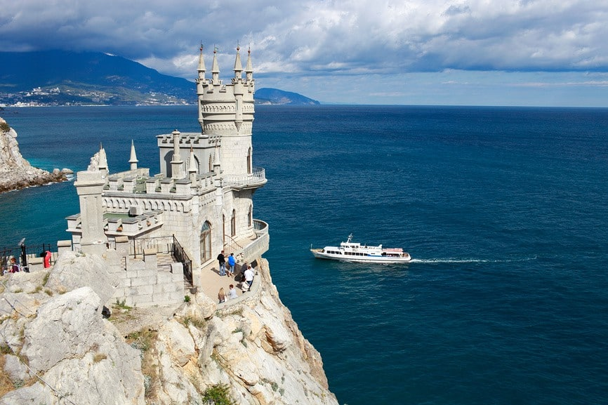 Ласточкино Гнездо, Крым, Россия