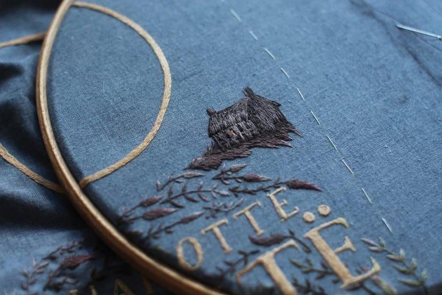 Фотография лучшей в мире вышивки