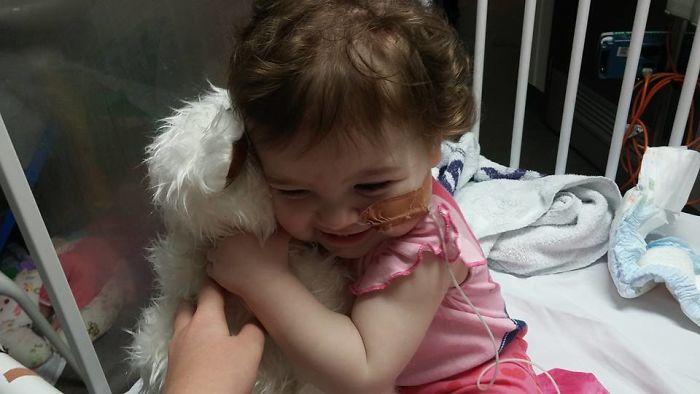 Счастливый миг в жизни больного ребенка