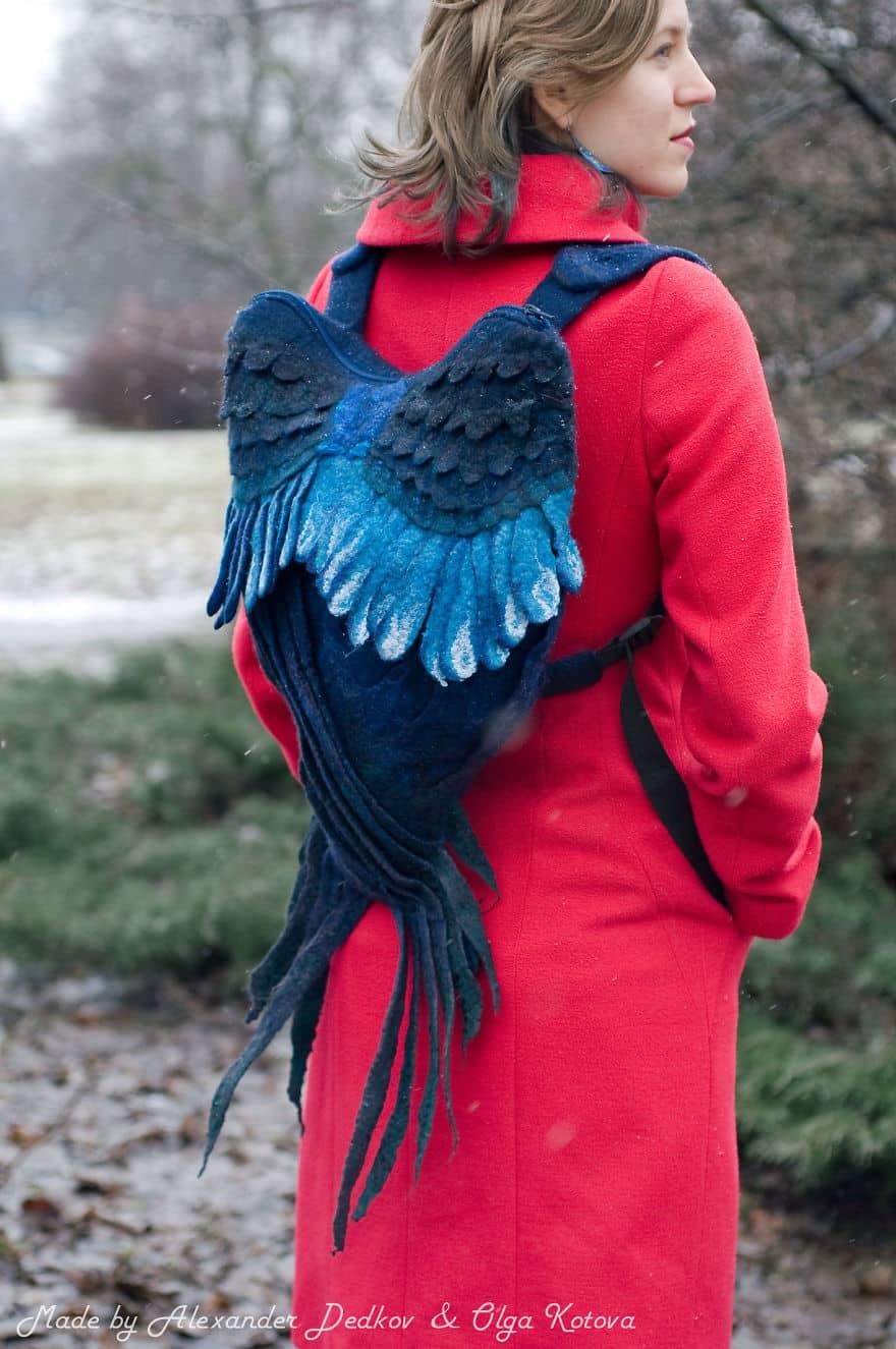 Рюкзак с крыльями