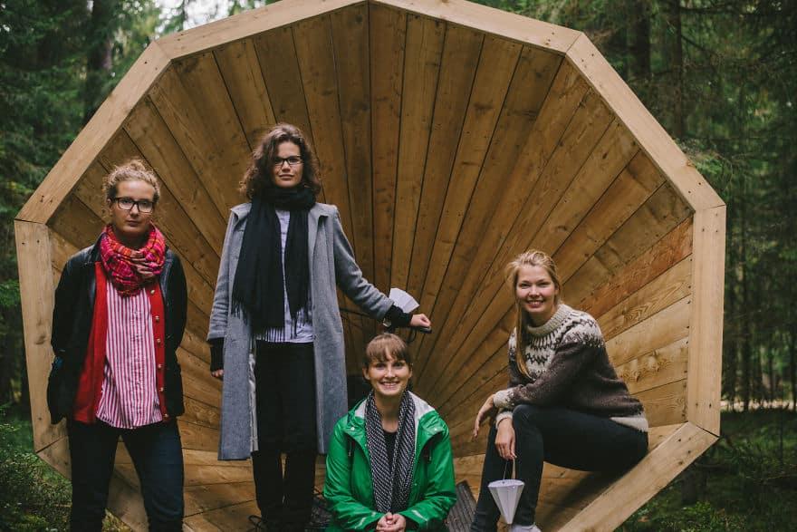 Эстонские студенты