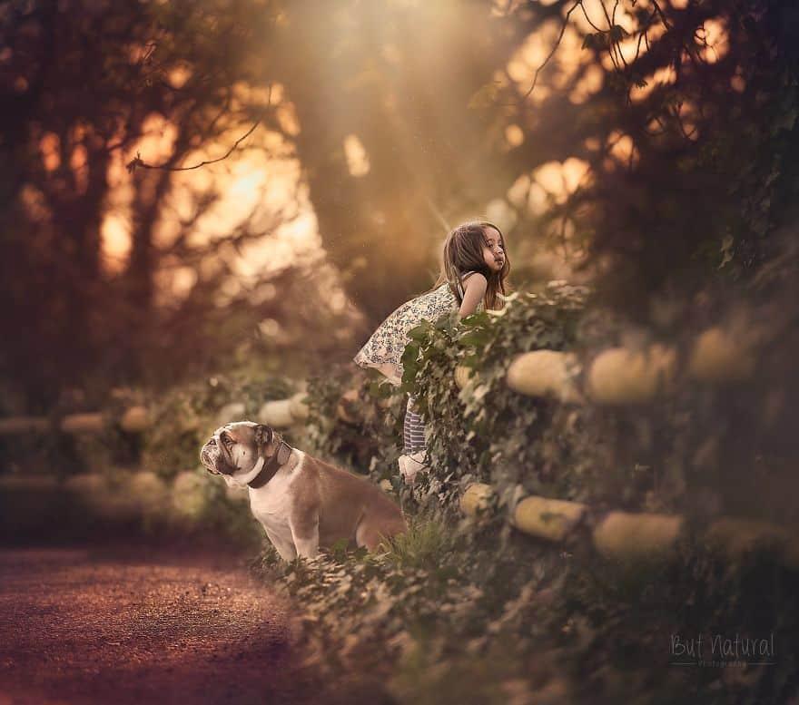 Прогулка по соседям с собакой
