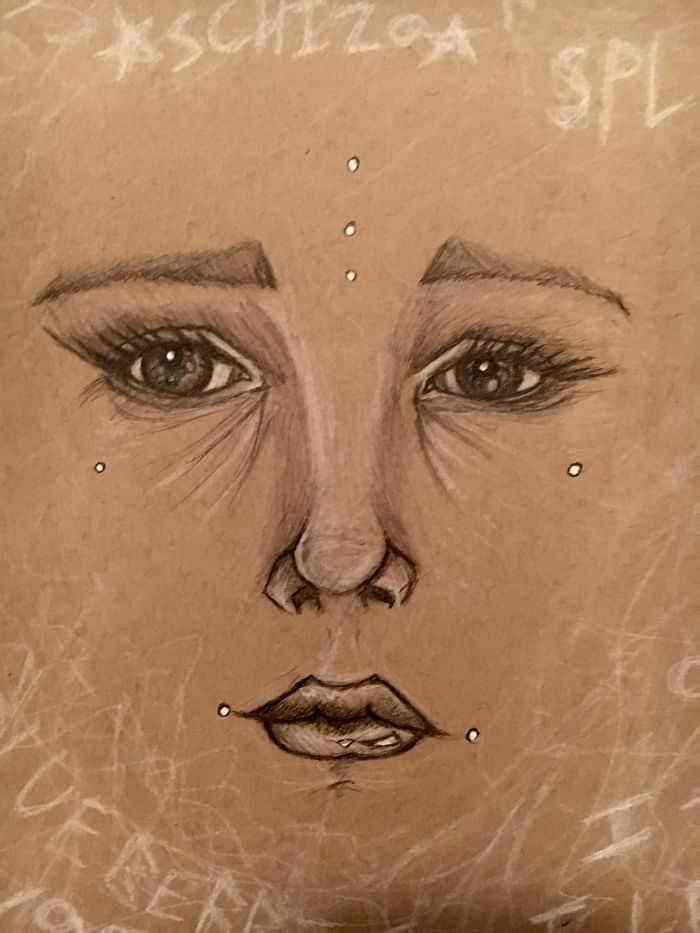 Автопортрет шизофреника