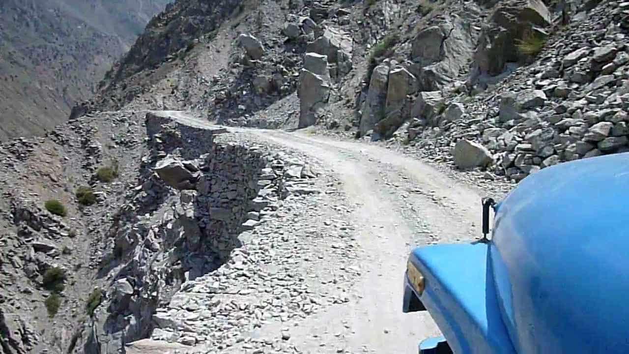 Дорога в Пакистане