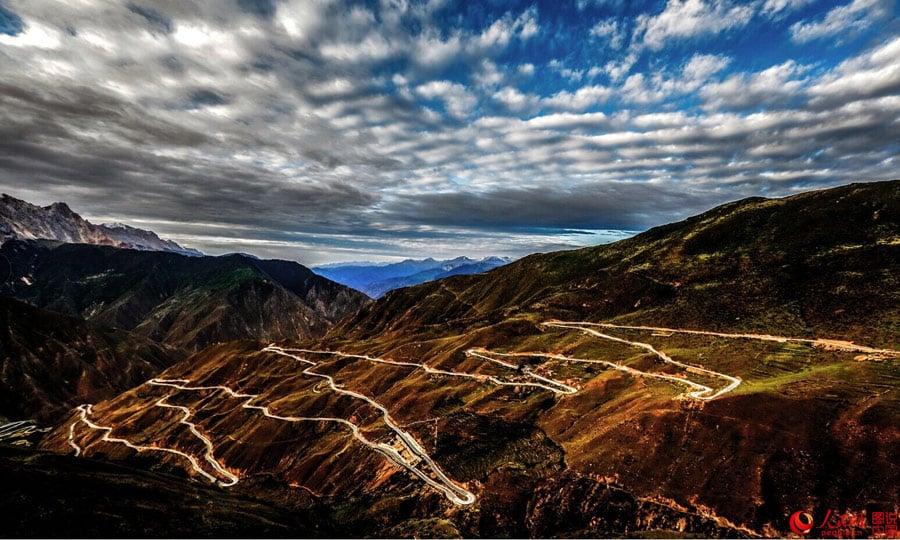 Тибетское шоссе Сычуань