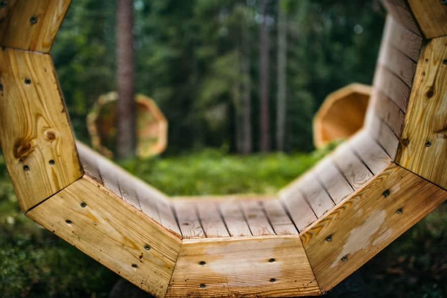 Естественные звуки леса