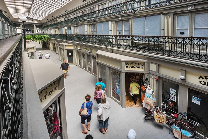 Торговый центр с богатой историей