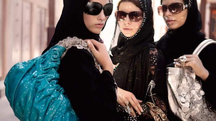 Замужние женщины в ОАЭ