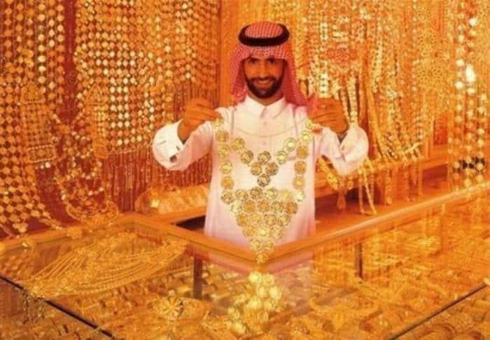 Ювелирный салон в Дубае