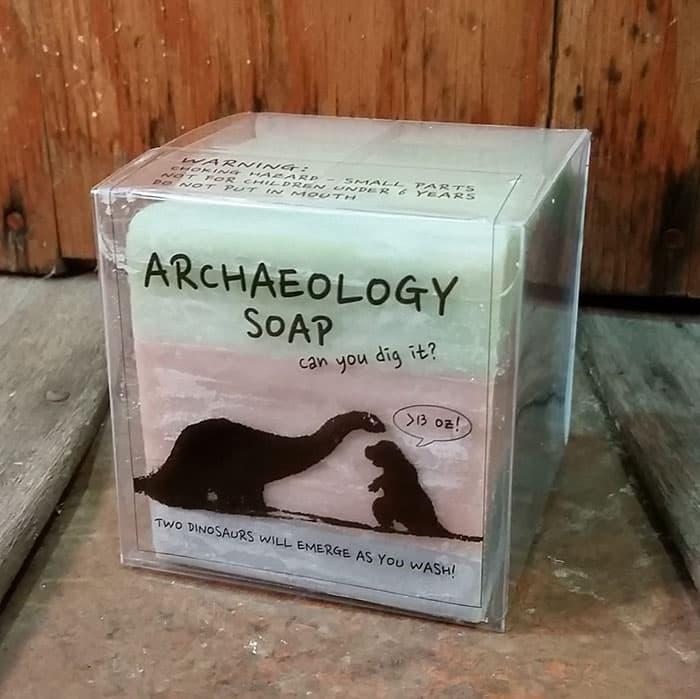 Кусочек уникального мыла