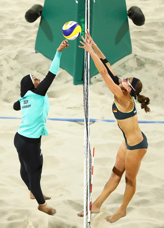 Волейбольный матч в Рио