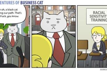 Комикс кот в бизнесе 2