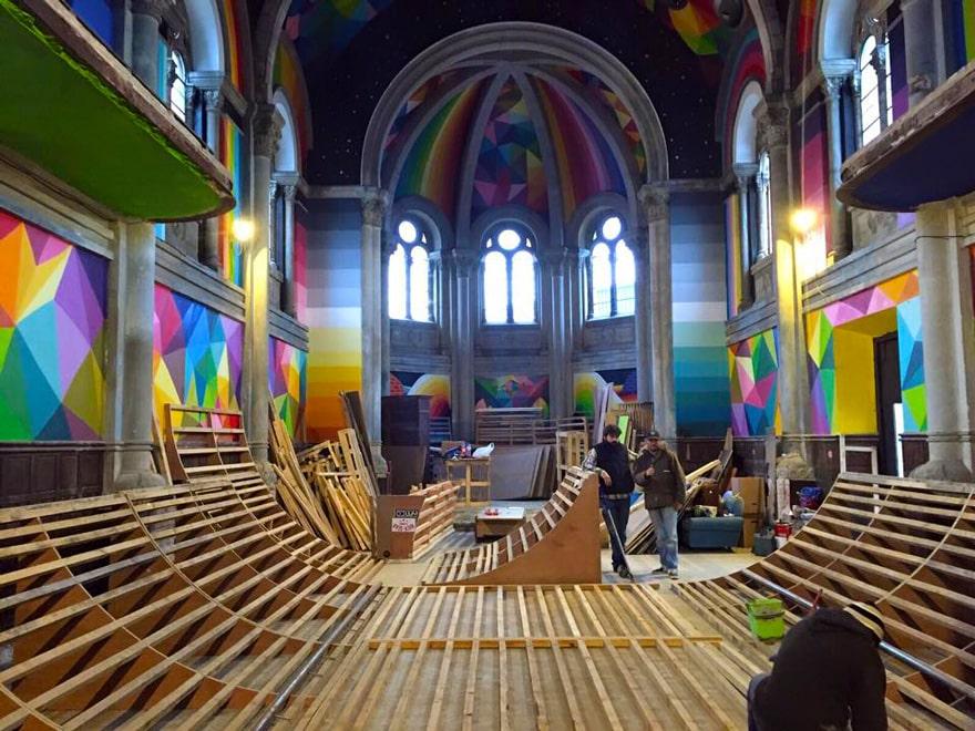 Создание центра развлечений в церкви