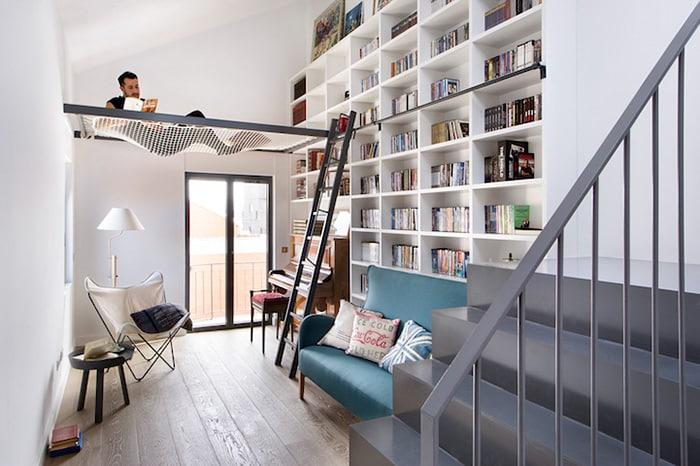 Дом - библиотека