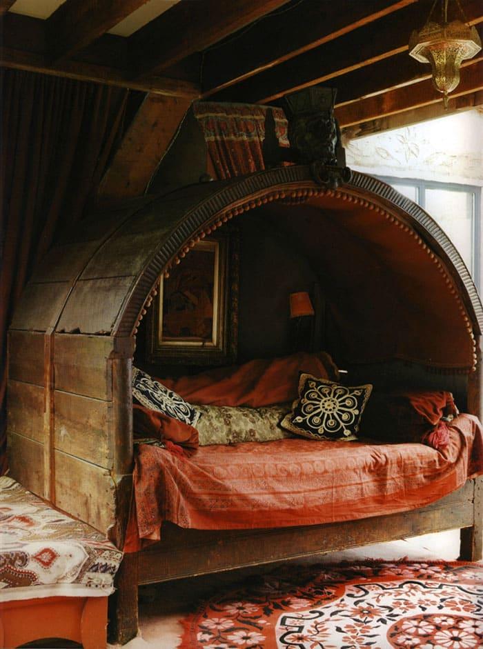 Укромное местечко для чтения книжек