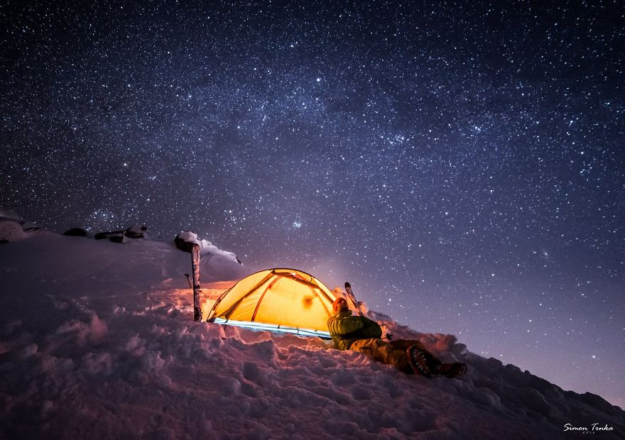 Ночлег в горах