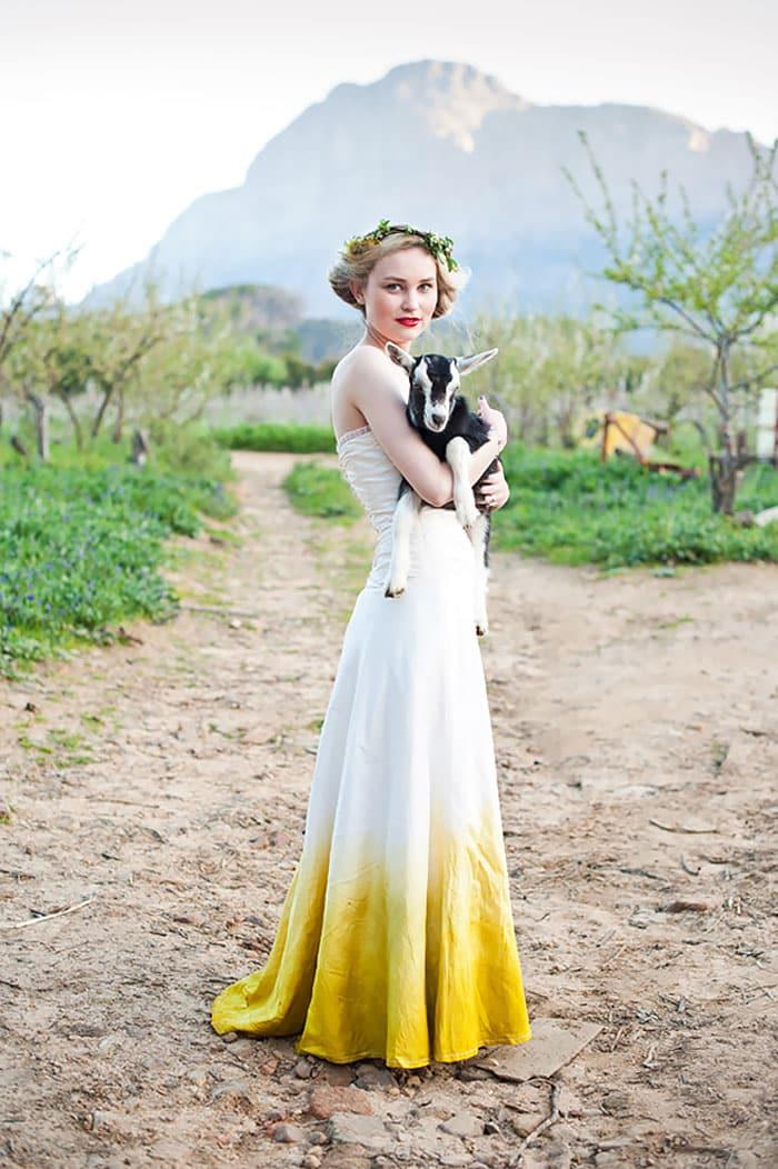 Свадебный наряд барышни-крестьянки