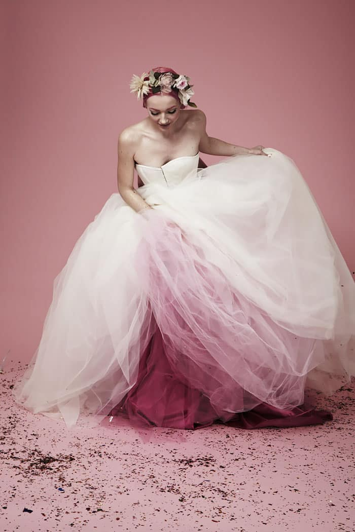 Свадебный белый наряд