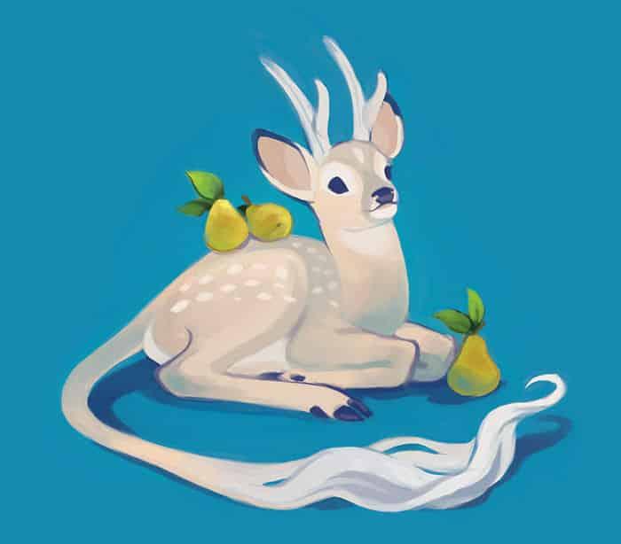 Дух чайной церемонии благородный олень