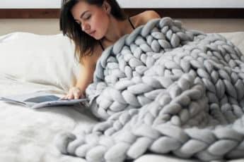 Одеяло ручной работы