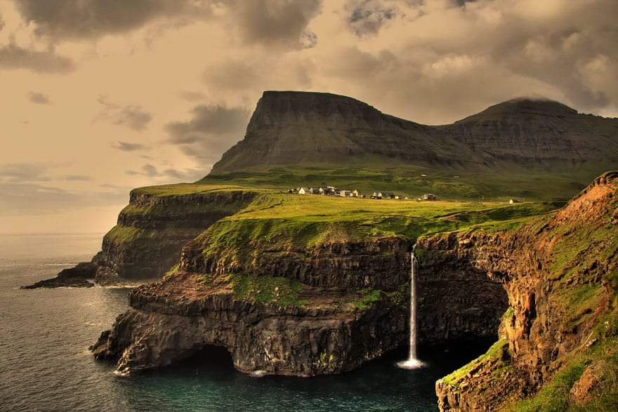 Гасадалур, Фарерские острова