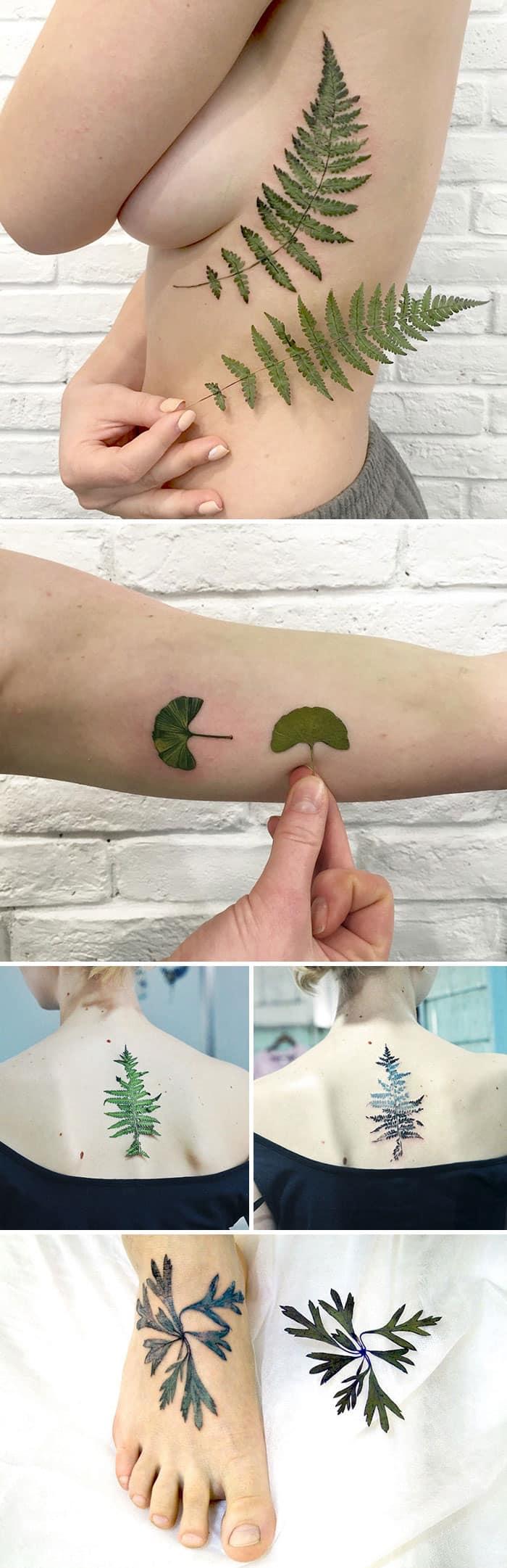 Весенние татуировки