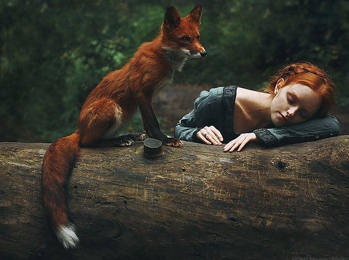 Лиса Алиса и Оля