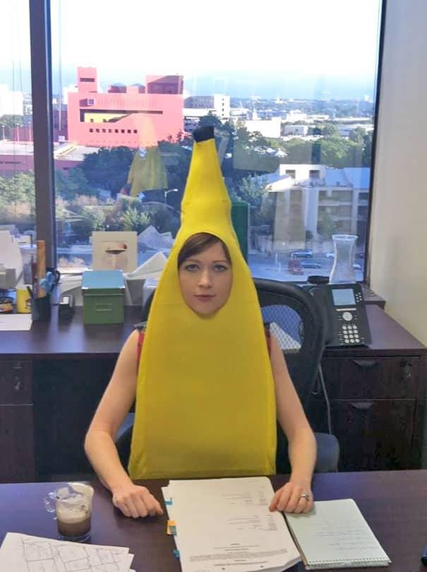 Жена-банан