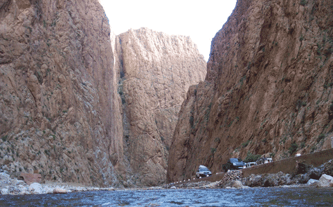 Перевал в Дедском ущелье