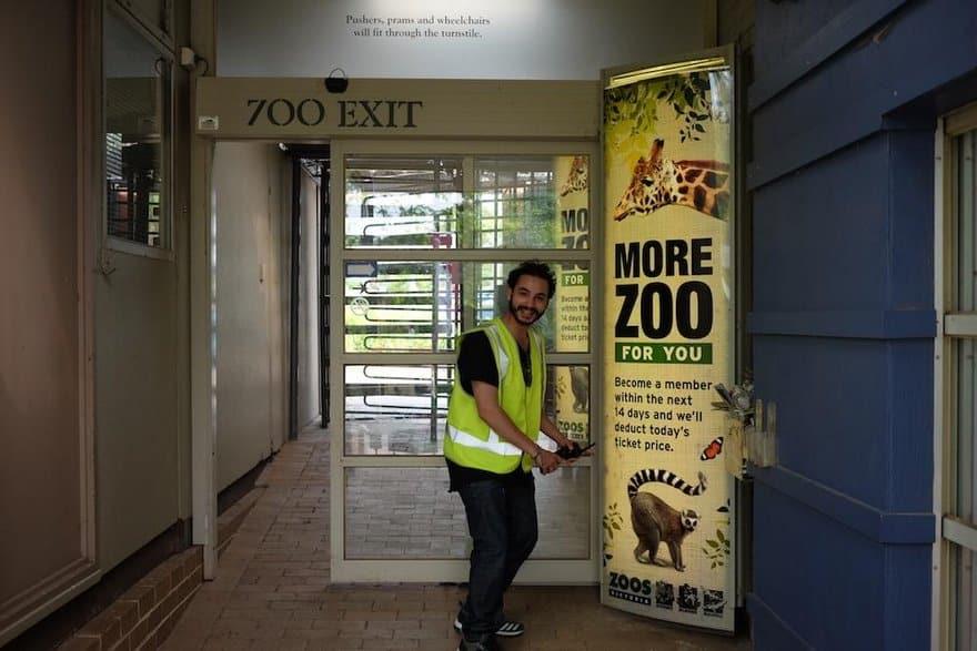 Бесплатный проход в зоопарк