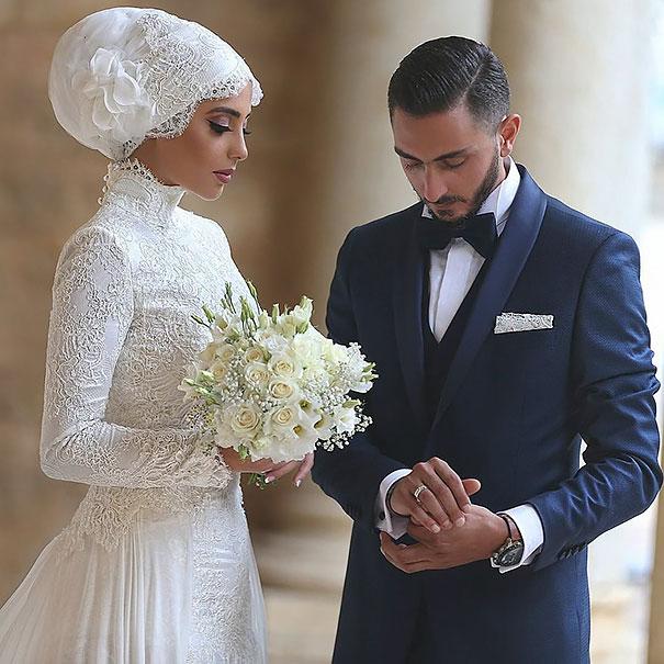 Великолепный наряд невесты