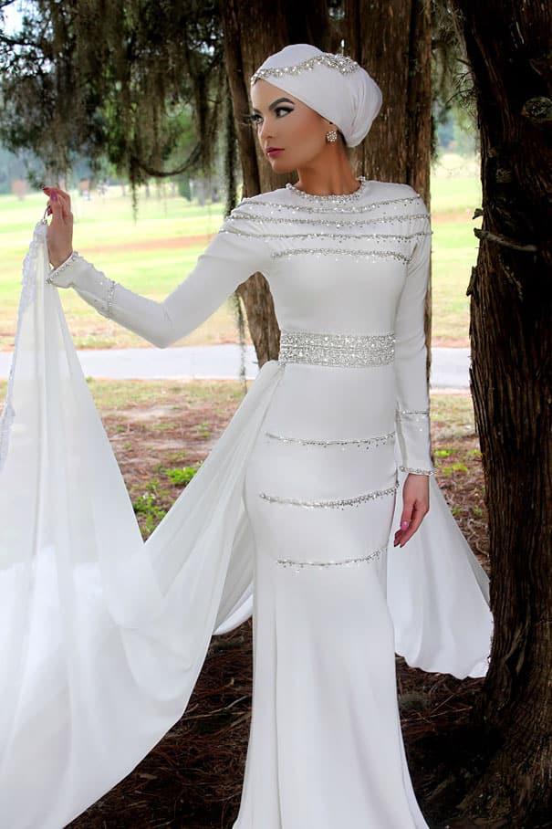 Мусульманский наряд для невесты