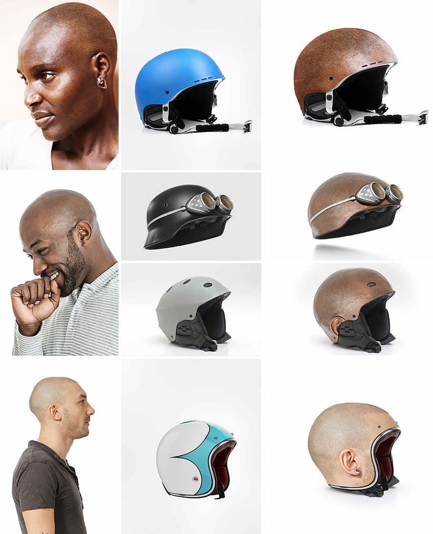 Шлем для гонок на мотоциклах