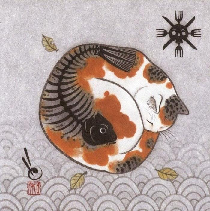 Японские коты