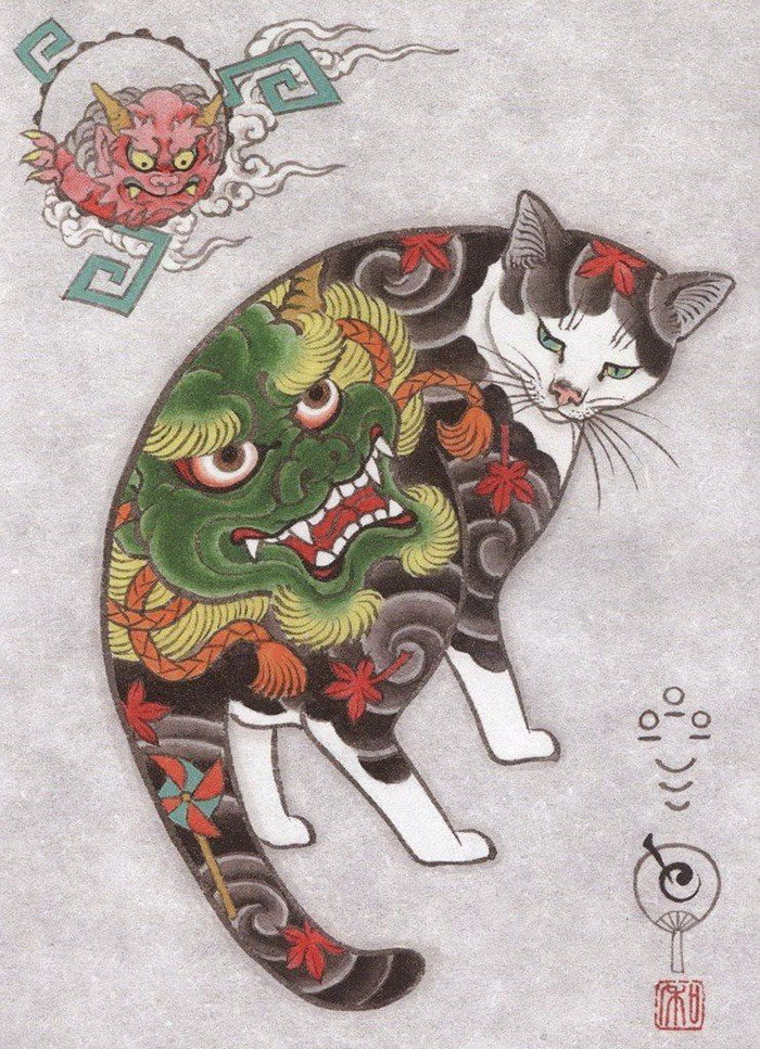 Коты самураи