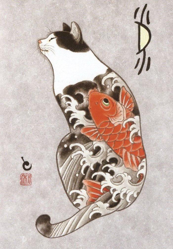 Самурайская кошка