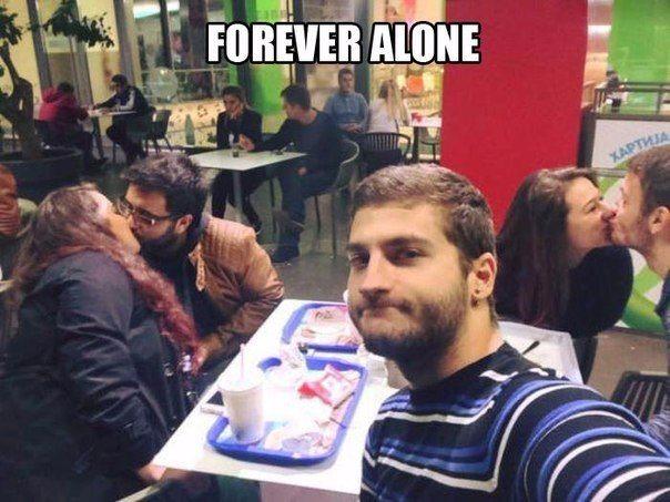 Гордый одинокий самец